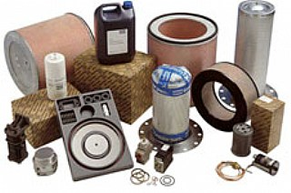 compressor oil, air filters, oil filters